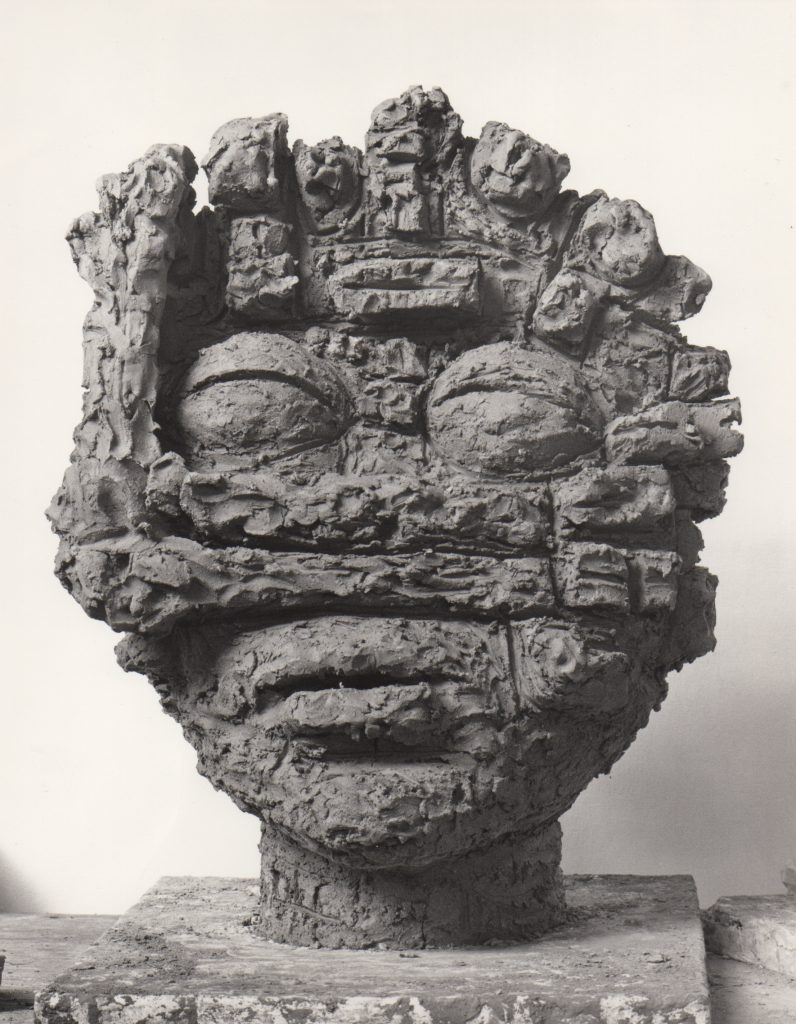 Dream, terra cotta, 24x19x10, 1986