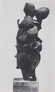 Duo II (Encounter), bronze, 34 x 12 x 8, 1959