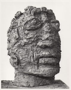 Head, terra cotta, 22x15x16, 1985