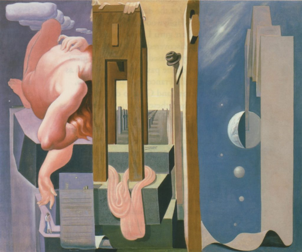 (fig. 8) Lorser Feitelson, Love: Eternal Recurrence, 1935-36. Oil, 54 1/4 x 66 V2 in. Phoenix Art Museum, Gift of Dr. and Mrs. Lorenz Anderman. Photo, Craig Smith © Feitelson Arts Foundation, reproduced by permission