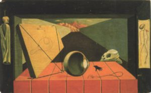 Lamentation, 1935. Oil on panel, 16 x 25 inches. Private collection