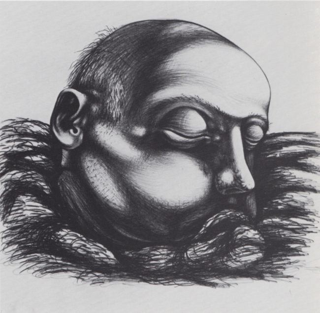 Reuben Kadish untitled, pencil on paper, 15 x 16 inches, 1935,