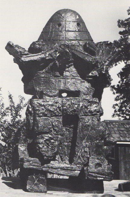 Reuben Kadish Double Jack, bronze, 30 x 16 x 16 inches, 1958,