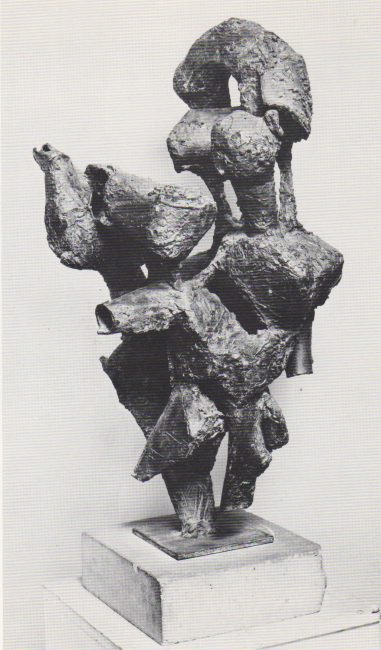 Reuben Kadish Barbaras Piece, bronze, 30 x 16 x 16 inches, 1959,