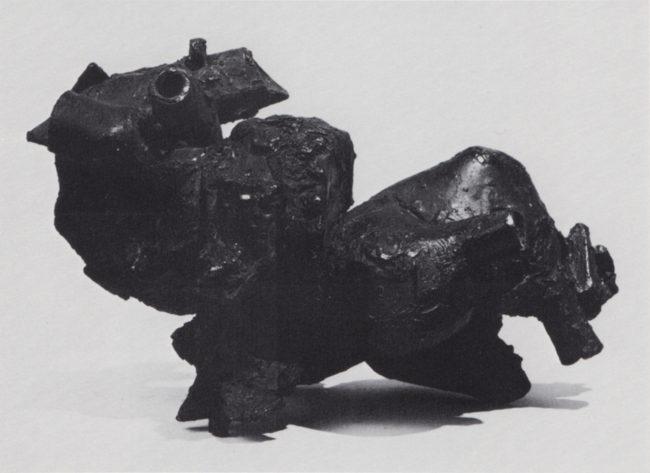 Reuben Kadish Ornette Coleman I, bronze, 14 x 19 x 10 inches, 1959,