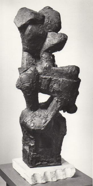 Reuben Kadish Jocasta I, bronze, unknown, 1962,