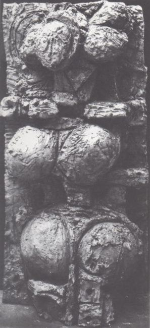 Reuben Kadish Indira (Earth Mother II), bronze, 41 x 20 x 10 inches, 1968-69,