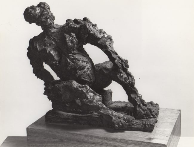 Reuben Kadish Eadie, bronze, unknown, 1971,