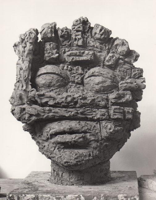 Reuben Kadish Dream, terra-cotta, 24 x 19 x 10 inches, 1985,