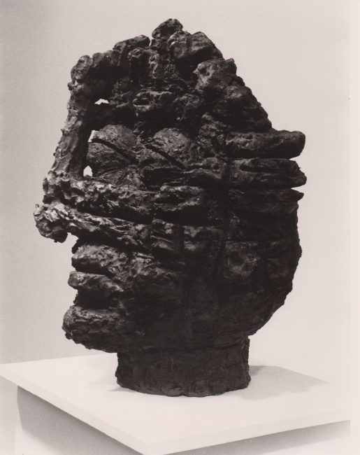 Reuben Kadish Head, bronze, unknown, 1985,