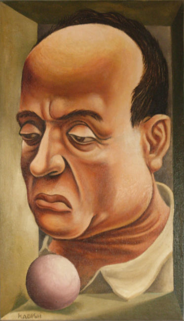 Reuben Kadish Portrait of the Artist's Father, oil on canvas, 35 x 24 inches (89 x 61 cm), 1933,