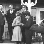 Reuben Kadish & Philip Guston At the wedding of their respective son (Daniel Morris Kadish) & daughter (Musa Mayer) at the Kadish farm in Vernon, NJ (c. 1963-64)
